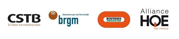 Le CSTB, le BRGM, Bouygues Construction et l'Alliance HQE-GBC