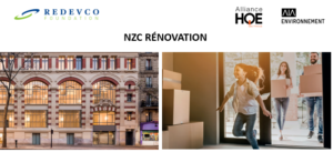Levers to reduce carbon emissions during renovation – the NZC Renovation project.
