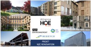 Les candidatures retenues pour le projet NZC Rénovation
